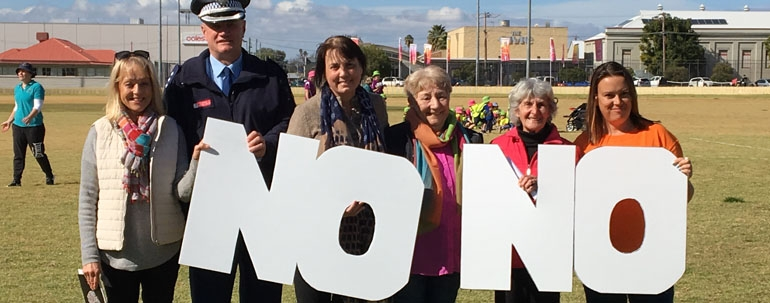 Gunnedah 'says no to drugs'