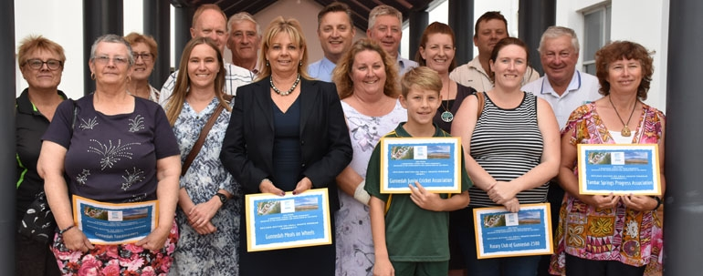 Council supports local community and sporting groups with small grants