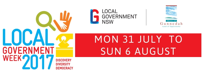Gunnedah celebrates Local Government Week 2017
