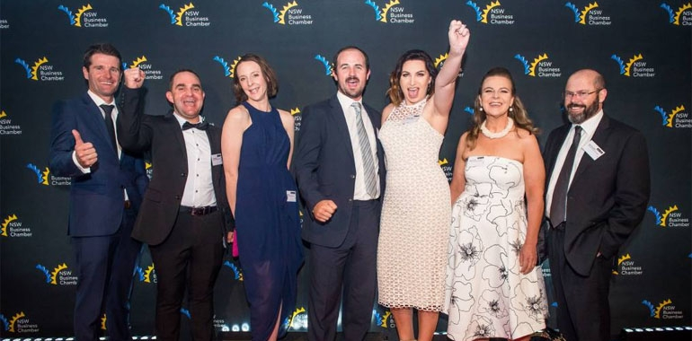 Council sponsors the 2018 Gunnedah Business and Service Awards