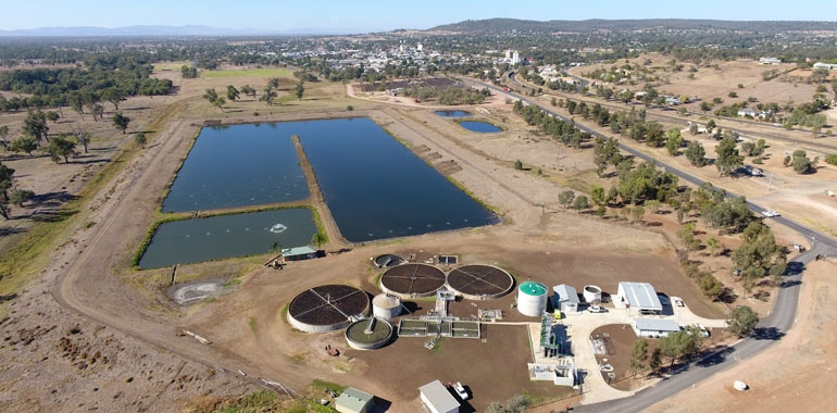 Gunnedah Waste Water Management Facility Upgrade nominated for IPWEA (NSW) Engineering Excellence Awards